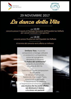 Locandina concerto La danza della vita