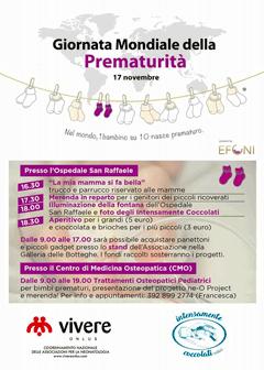 Locandina Giornata Mondiale Prematurità
