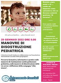Manovre di distruzione pediatrica 29 gennaio 2022
